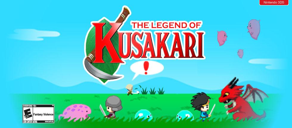 [3DS] Nnooo annonce la sortie de The Legend of Kusakari sur l'eShop !