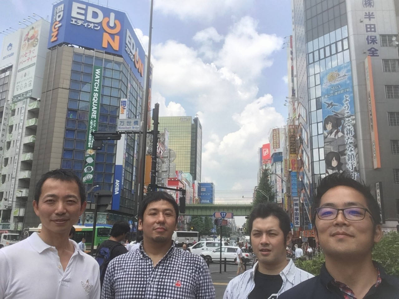 The Librage team in Tokyo
